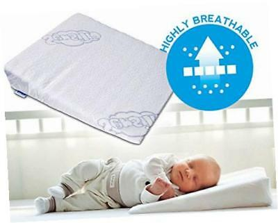 BRAND NEW Baby Wedge Anti Reflux Colic Pillow For Pram Crib Cot Bed 37x30
