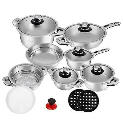 PAN SETS 16pc cookware set saucepans bachmayer solingen pans