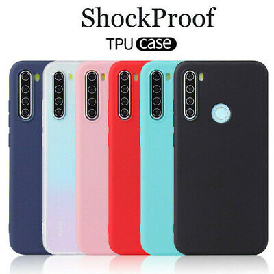 For Xiaomi Redmi 6 6A 7A Note 8 7 Pro Slim Silicone TPU Frosted Back Cover Case