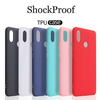 For Xiaomi Mi A2 8 Lite Max 3 A1 Ultra Thin Silicone TPU Frosted Back Cover Case