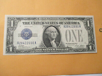 1928-A $1 Silver Certificate (Funny Back) Outstanding Note