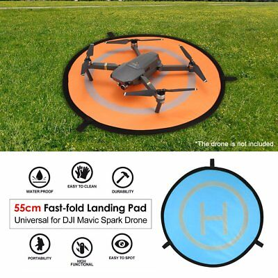 55cm Fast-fold Landing Pad Universal Parking Apron For DJI Mavic Spark Drone UK