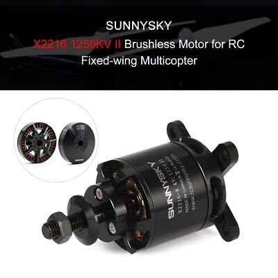 SUNNYSKY X2216 1250KV II 2-4S Brushless Motor for RC Fixed-wing AirplaneNM