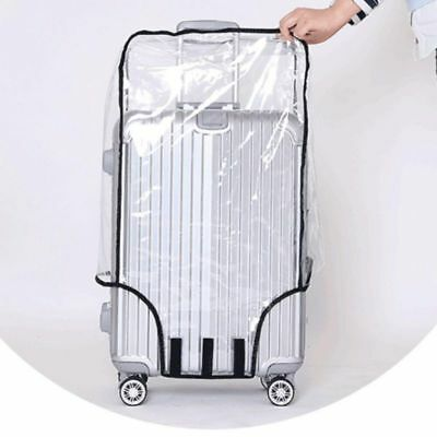 PVC Clear Travel Luggage Protector Suitcase Cover Bag Dustproof Waterproof Cover