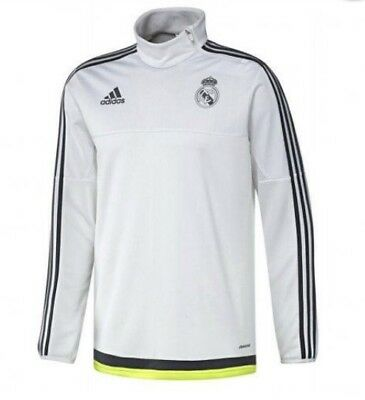 Adidas Real Madrid Players Adult Training Zip Top - size M