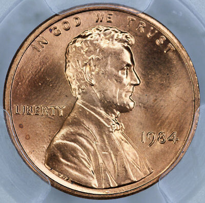 1984 PCGS MS66RD Lincoln Cent
