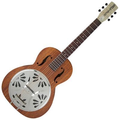 Gretsch G9200 Boxcar Round-Neck, Mahogany Body Resonator - Natural