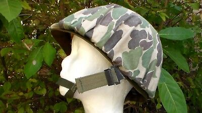 US Army WW2 style ( Late 1970s - Early 1980s ) M-1 Helmet & Frog Skin Camouflage