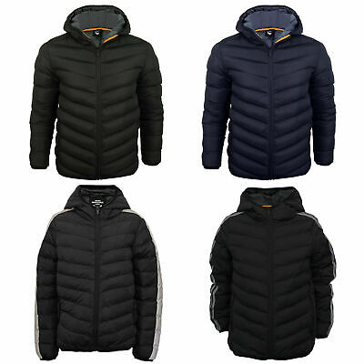 c0f74413d Boys Hooded Padded Jacket Back To School Puffer Puffa Warm Winter Quilted  Coat
