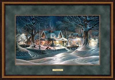 """Jerry Gadamus /""""Scarlet Sanctuary/""""    Signed and Numbered with Cert 10.25/""""x23.75/"""""""