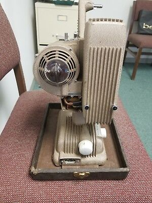Revere Eight 8mm Movie Projector P-1002 Vintage Untested