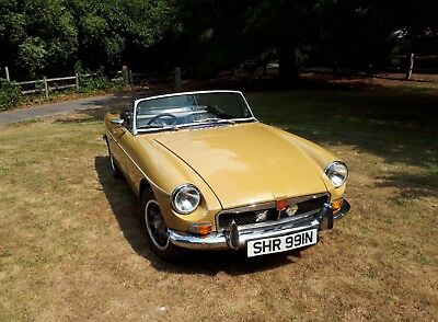 MGB Roadster - 1974 Genuine Chrome Bumper - MOT Aug 2019