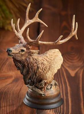 Primal Call - Elk Sculpture by Stephen Herrero
