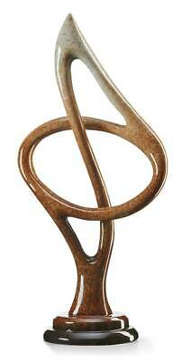 Rhapsody - Music Note Imago Sculpture by Lawrence Oliver