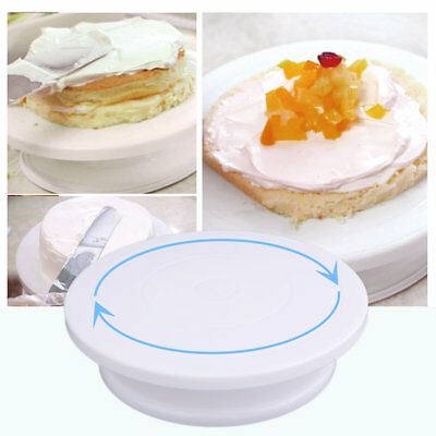 Cake Decoration Turntable Practical Table Rotating Disc Non-Slip Baking TYQ