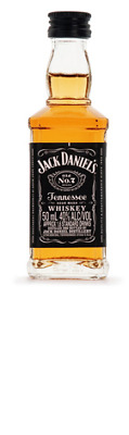 Jack Daniels Tennessee Whiskey Min 50mL ea - Spirits - Origin United States