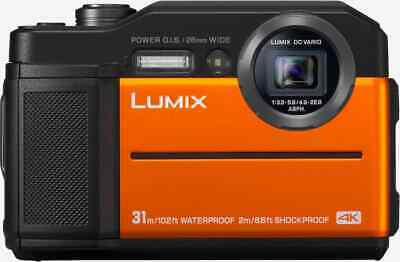 Fotocamera Subacquea Digitale Panasonic 20.4 Mpx 30 Mt Video 4K DC-FT7EG-D Lumix