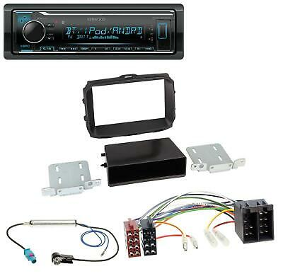 Kenwood AUX USB Bluetooth MP3 Autoradio für Alfa Romeo Giulietta (2010-2014)