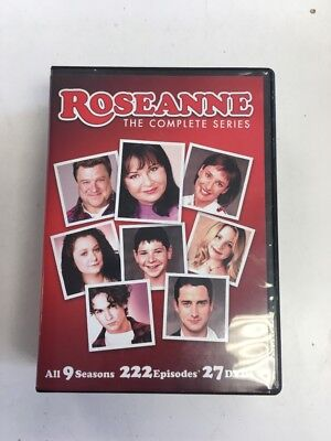 Roseanne: The Complete Series (DVD, 2013, 27-Disc Set) USED VGC L@@K
