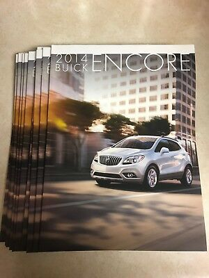 10 total 2014 Buick Encore 36-page Original Sales Brochure