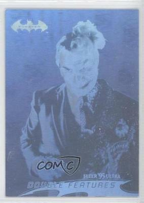 Batman Forever:1995-Movie- Fleer Ultra- Hologram Card [2 of 36]