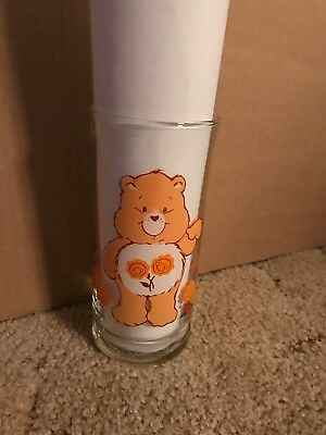 Care Bears Pizza Hut Friend Bear Glass