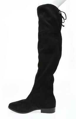 e280ee3d69d STEVE MADDEN WOMENS 'Orlene' Black Suede Over The Knee Sz 8 M Boots NEW!  132259