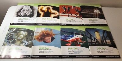 New York institute of photography-fundamentals Of Digital Photography (Lot Of 8)
