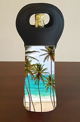 Beach Wine Bottle Cooler Carry Bag