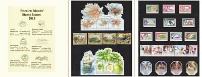 Pitcairn Islands 2015 Complete All Issues + Definitives Mnh