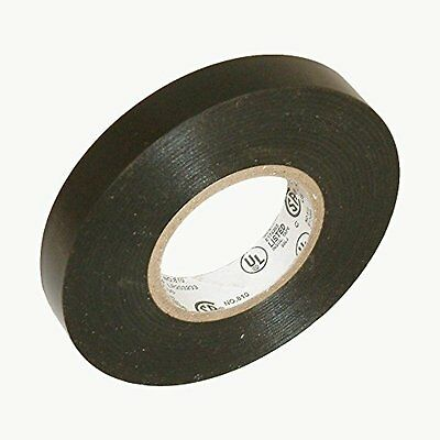 "length 2/"" x 66 Ft TapesSupply PVC Black Premium Grade Electrical Tape"