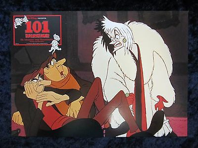 Walt Disney's 101 Dalmatians lobby card  # 3 - Original German Lobby Card