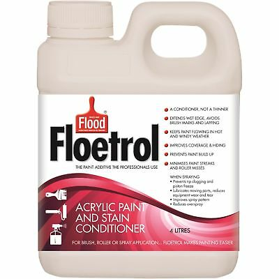Flood Floetrol Acrylic Paint and Stain Conditioner 4l