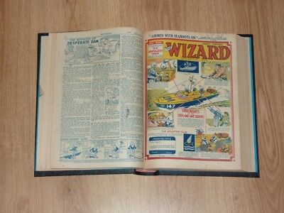The Wizard Comics - 1st Jan to 25th Jun 1955 - Half Year Bound Volume