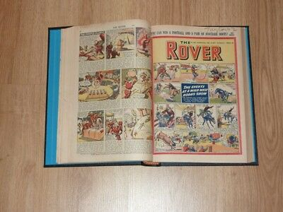 The Rover Comics - 5th Jan  to 28th Jun 1952 - Half Year Bound Volume
