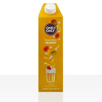 One & Only Smoothie Mango 6 x 1l