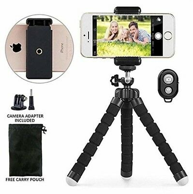 Gopro Tripod Stand,Octopus Lightweight Adjustable Camera Stand Phone Tripod NEW