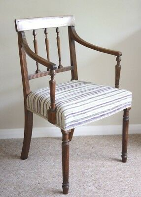 Regency 1800 - 1830 Mahogany Chair