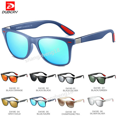 DUBERY Men Sport Polarized Sunglasses Women Outdoor Driving Glasses New 2020