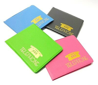 Mini Colorful Address Book Phone Number Pocket Size Contact Collections Analog
