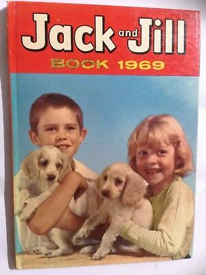 JACK AND JILL 1969 Annual. Good Condition For Age **Free UK Postage**
