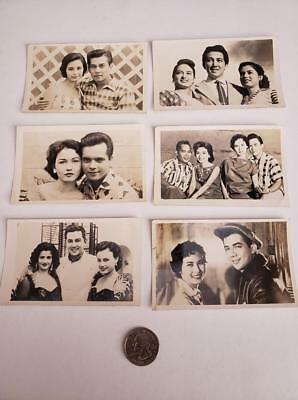 Lot of PHILIPPINES Vintage Cinema Love Teams Postcards & Photos from post WWII