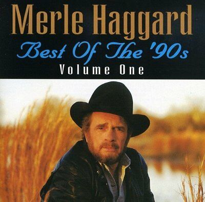 Merle Haggard Best of the '90s Vol. 1 2013 CD Greatest Hits New Gift Idea UK
