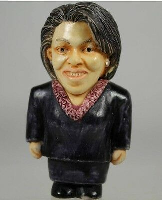 NIB! Harmony Ball POT BELLYS Historical Figurines Collectible MICHELLE OBAMA