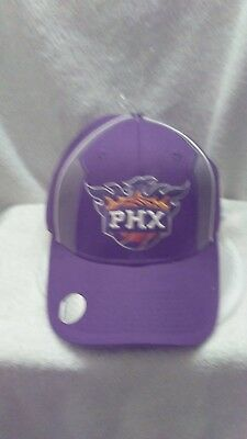 online store 294e7 8afe0 Phoenix Suns Mens VINTAGE Old School Hat Cap Purple Orange Basketball