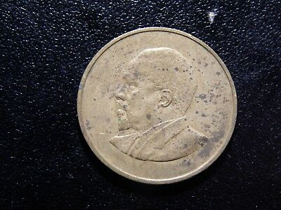 1966 Republic Of Kenya Five Cents Coin!   Yy352Xxx