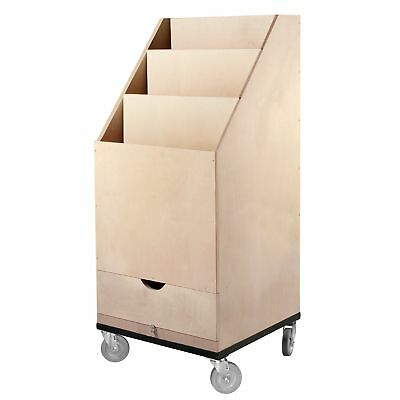 3-Place Scrim And Flag Box With Drawer (Casters Included)