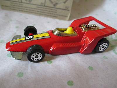 1978 Corgi Juniors 1:64 Red #8 Formula 5000 Racing Car #27 Gt. Britain (Mint)
