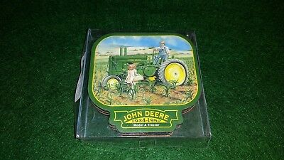 John Deere Coasters Set of 4 in Original Packaging