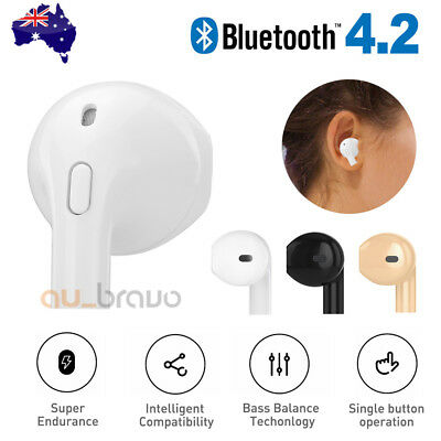 Wireless Bluetooth 4.2 Sport Headset Headphone Earphone For iPhone XS XR Samsung